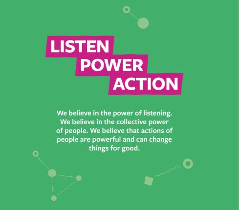 listen power action